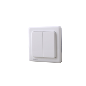 2gang wireless light switch for remote control and operation