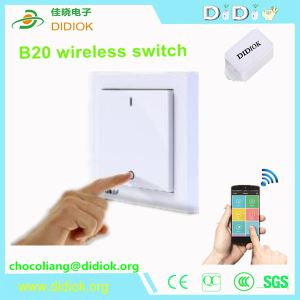 No Battery No Electricity No Wire Water Proof Switch IOT Smart Home Appliance