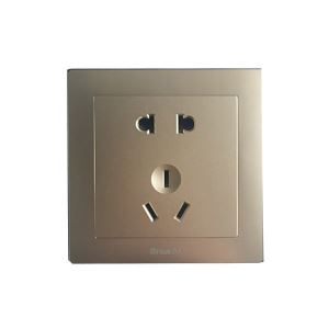 110V-250V Single Double Plug Mounted Power Wall Switch Socket
