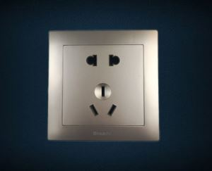 Universal Wall Socket Wall Mount Socket Outlets 2 Pin And 3 Pin Socket