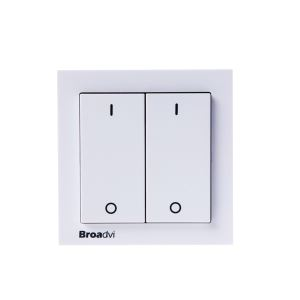Remote Double Wireless Wall Switch For Home Automation