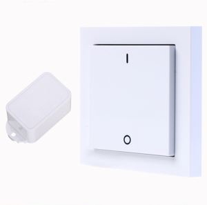 Waterproof Battery-free Intelligent Self Powered Remote Control RF Wireless Light Switch