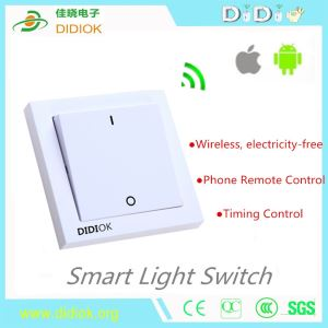Smart Wireless Remote Control Switch Self-Powered Light Switch