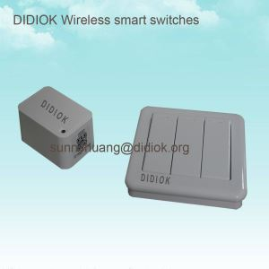 3 Gang Wireless Switch And Receiver Kit